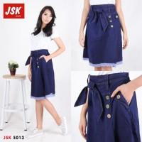Rok Jeans Navy 7/8 5013 - JSK